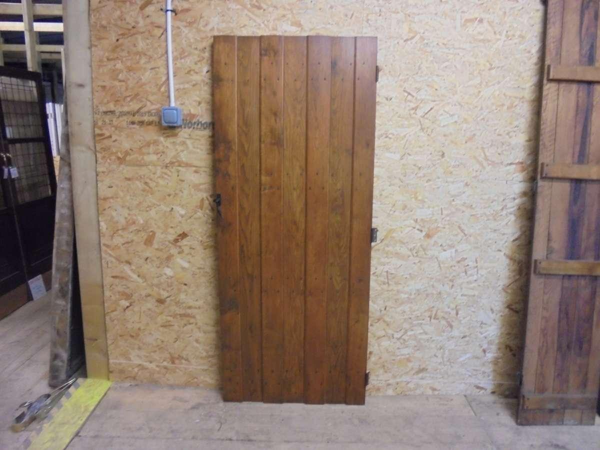 salvaged ledge door