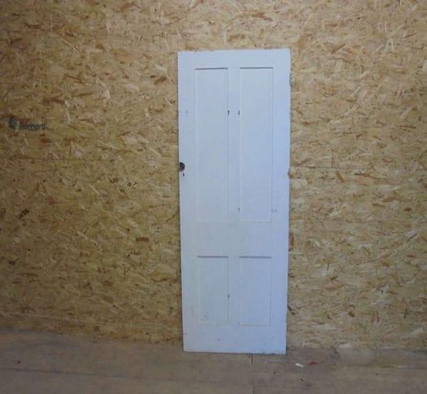 salvaged 4 panel door