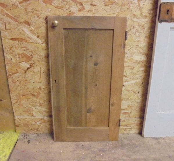 reclaimed small cupboard door