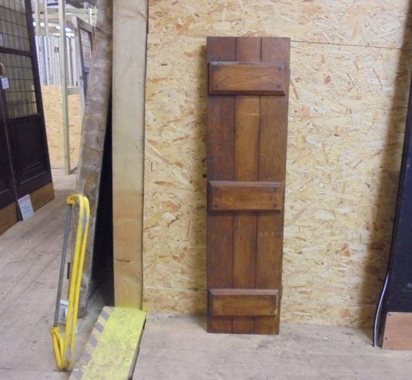 Salvaged Ledge Cupboard Door