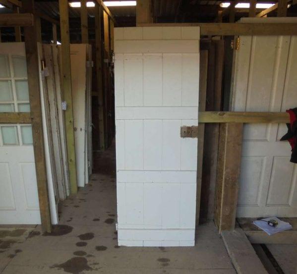 Reclaimed Ledge Door
