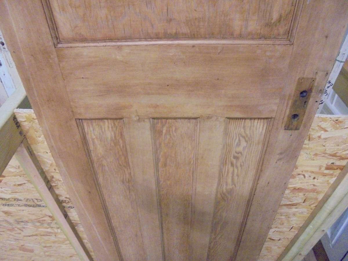 Stripped 1930s 1 Over 3 Door