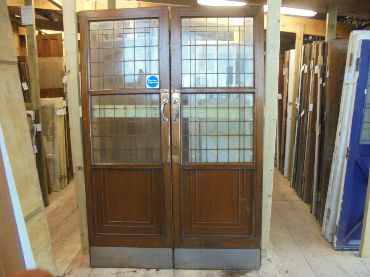 reclaimed selfridges half glazed doors