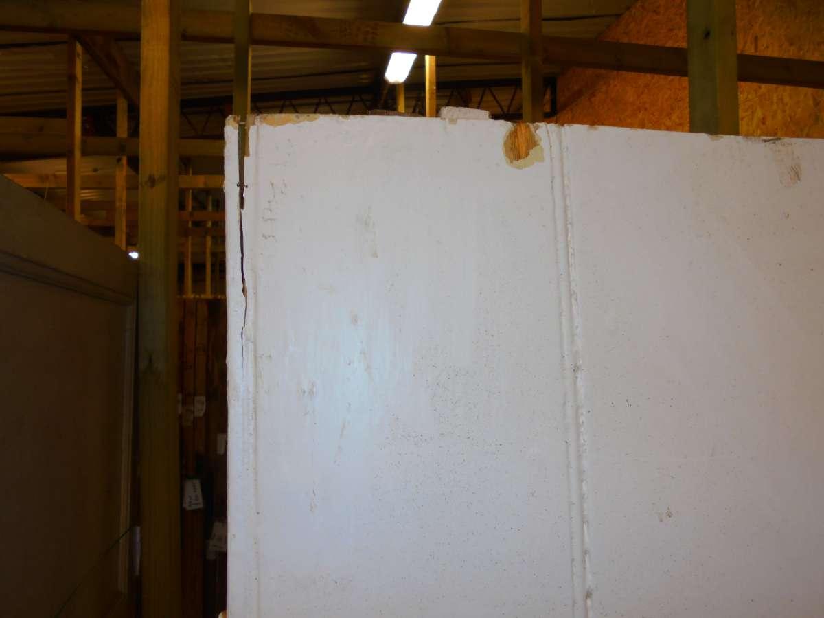 reclaimed ledged door