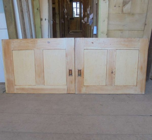 Reclaimed Cupboard Door Pair
