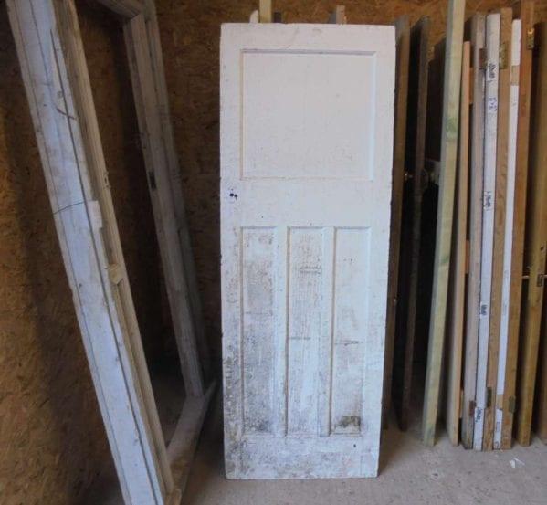 reclaimed 1 over 3 panel door