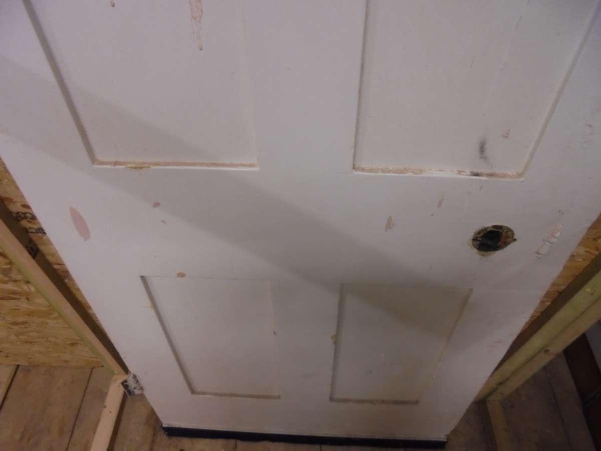 reclaimed 4 panel painted door