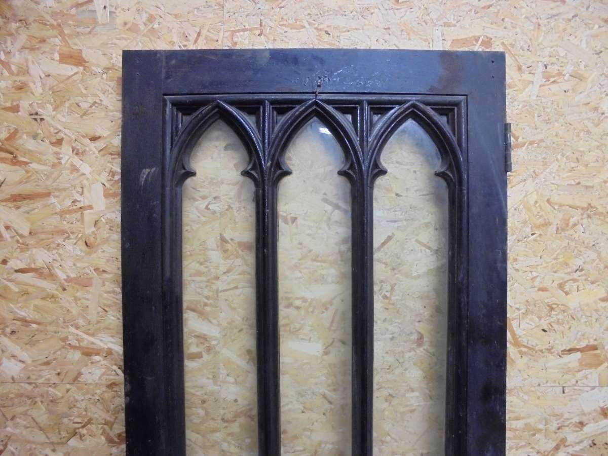 reclaimed gothic door