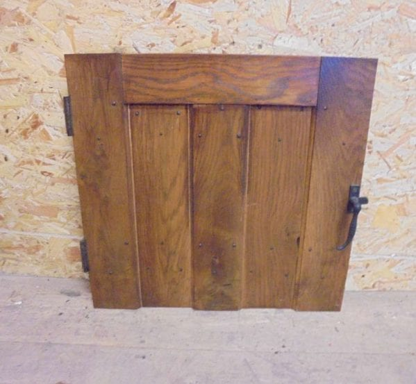 reclaimed small ledge cupboard door