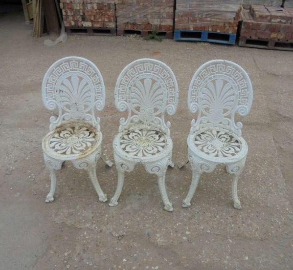 Reclaimed Outdoor Aluminium Garden Chairs
