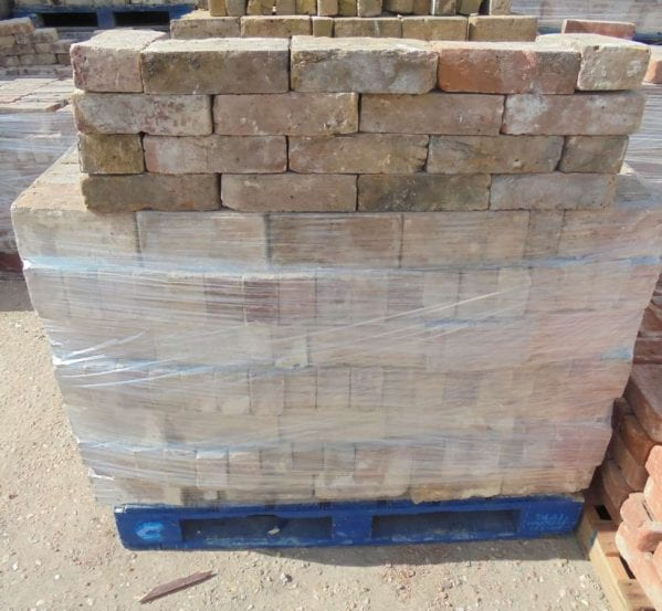 Reclaimed yellow stock bricks