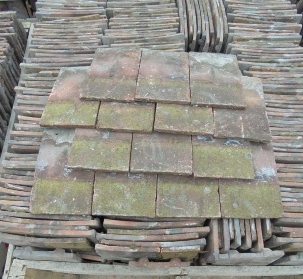 Reclaimed Weathered Handmade Roofing Tiles