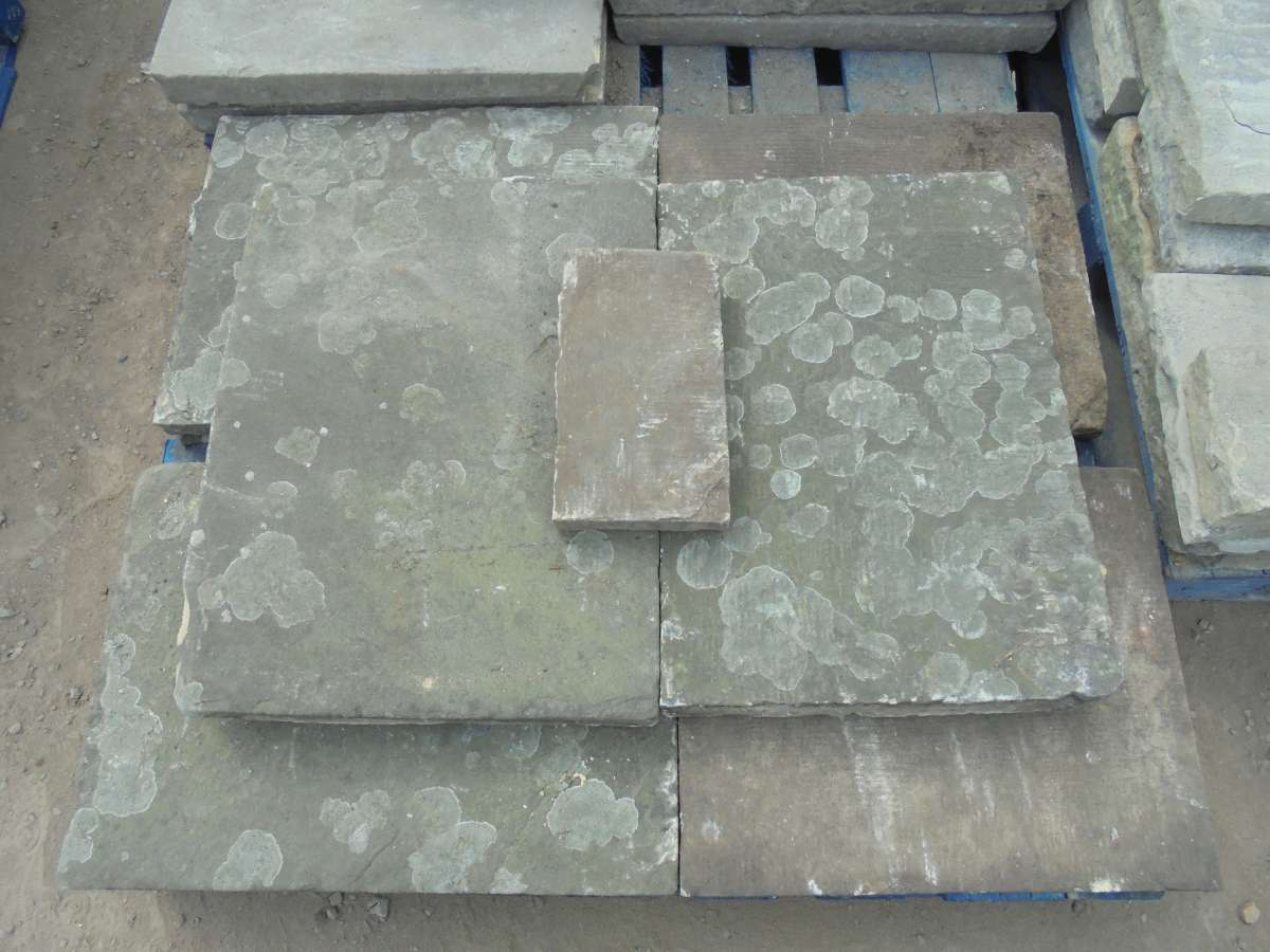 reclaimed milled york stone