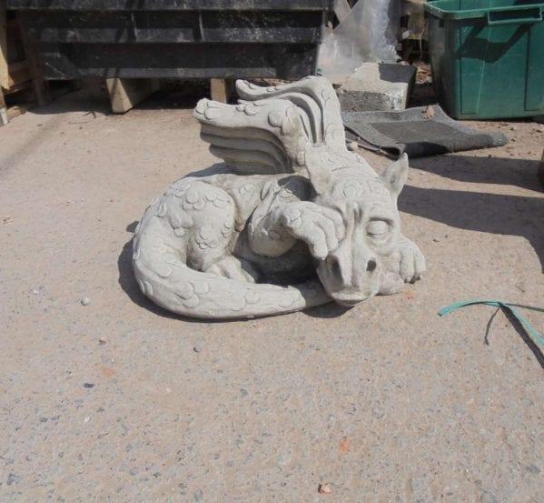 Reclaimed Stone Garden Dragon