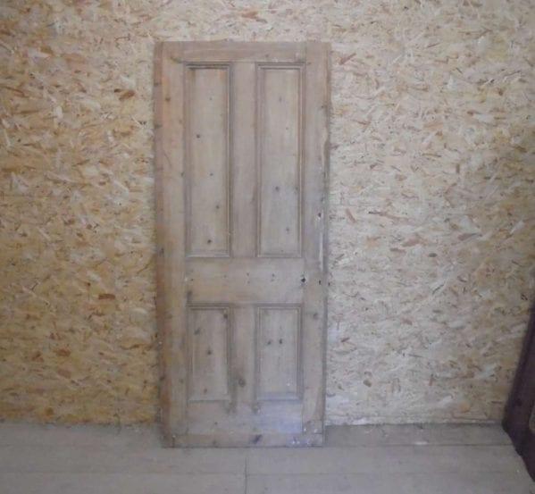 Beaded Reclaimed 4 Panel Door