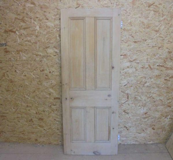 Reclaimed 4 Panel Door Beaded