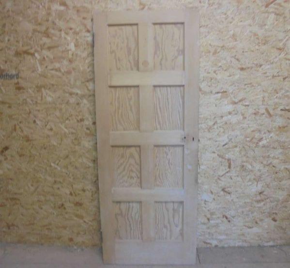 Reclaimed 8 Panel Door 2 Over 2 Over 2 Over 2