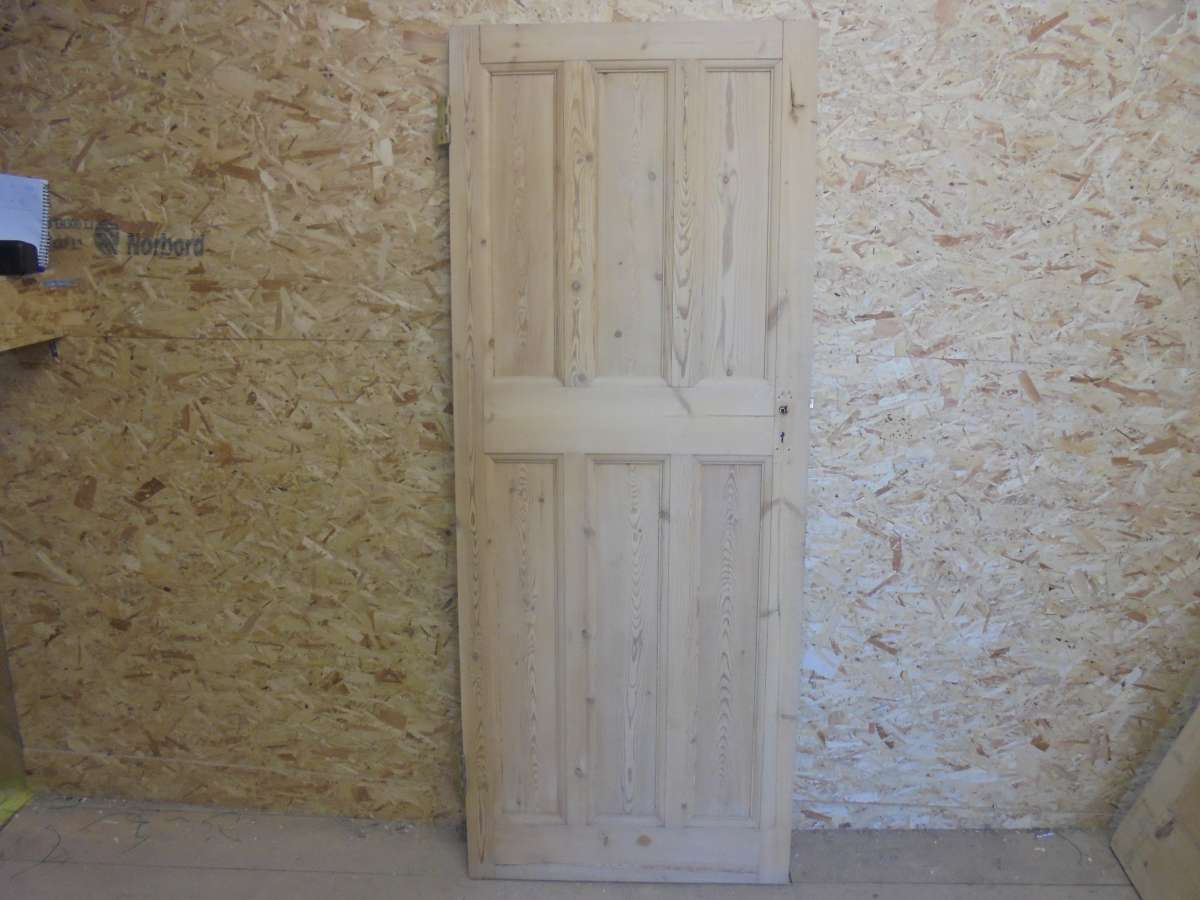 Pine Stripped 6 Panel Door