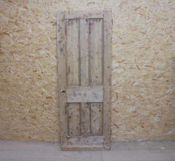 Stripped Reclaimed 4 Panel Door