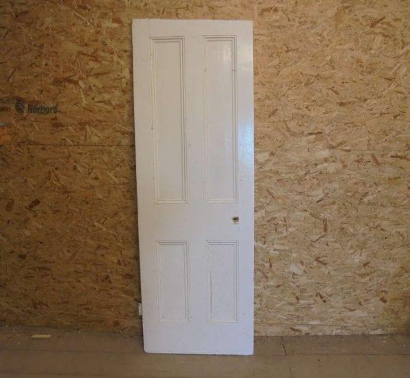 Reclaimed Painted 4 Panel Door