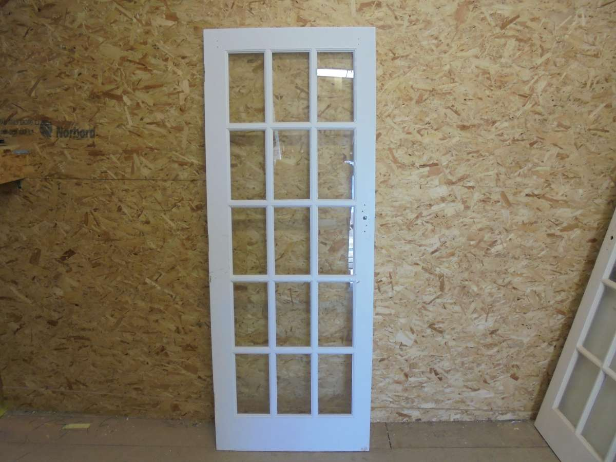 Reclaimed Full Glazed Door