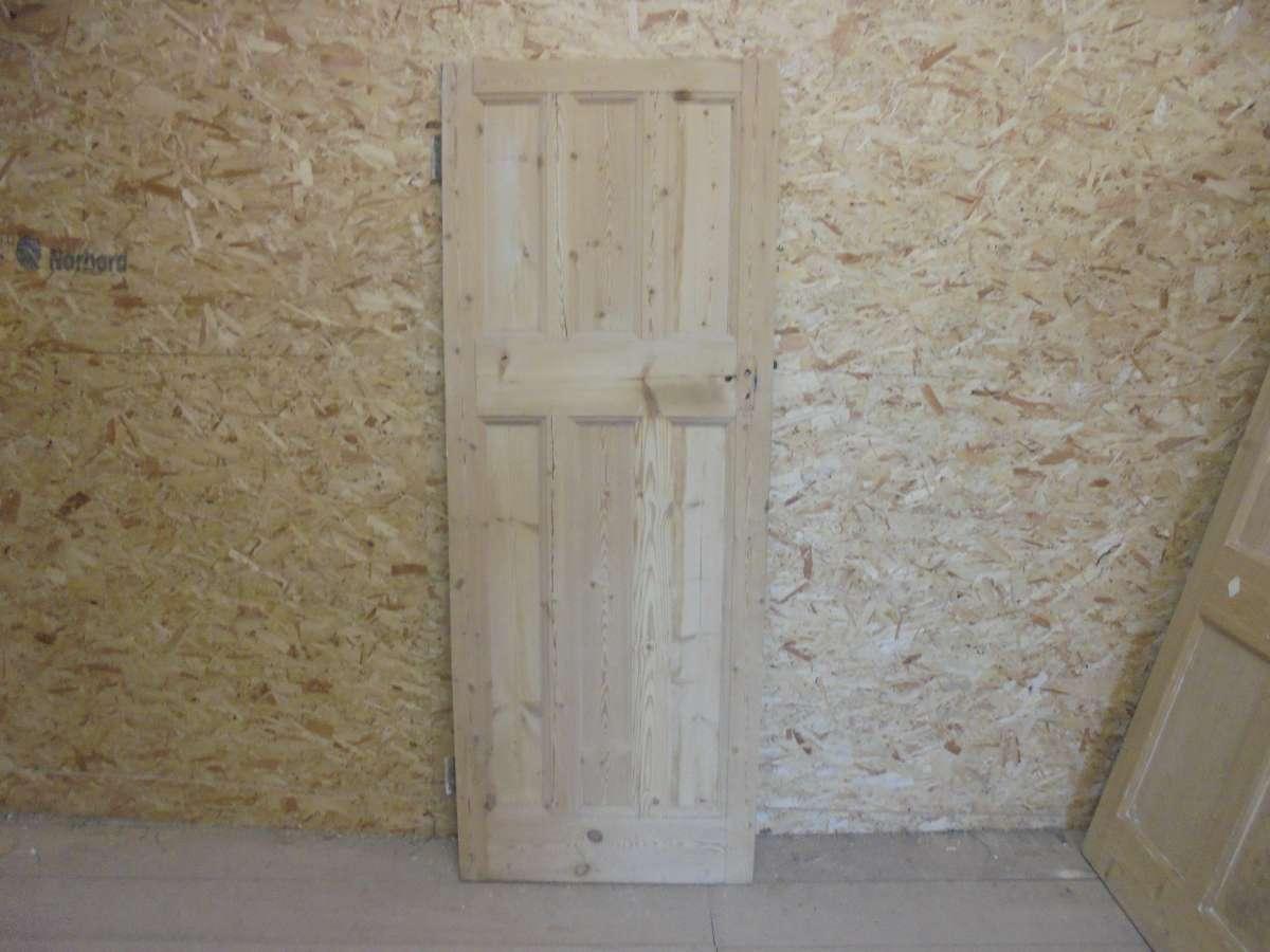 Beaded Reclaimed 6 Panel Door (3 Over 3)