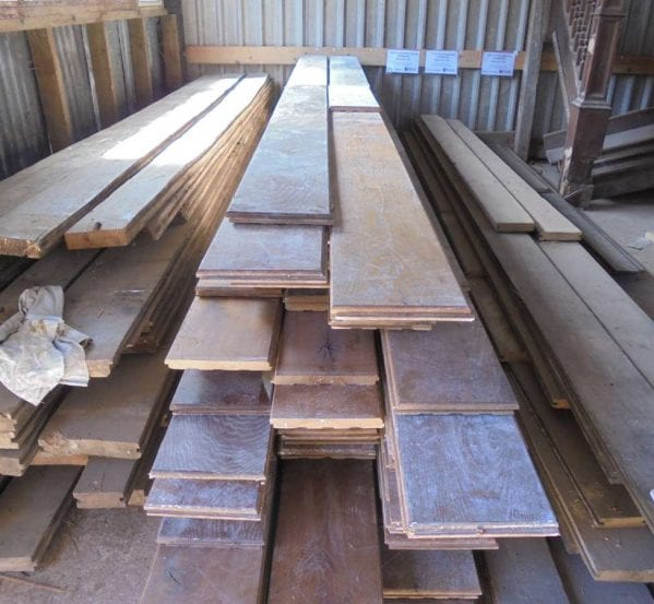Tongue and Groove Oak Floorboards