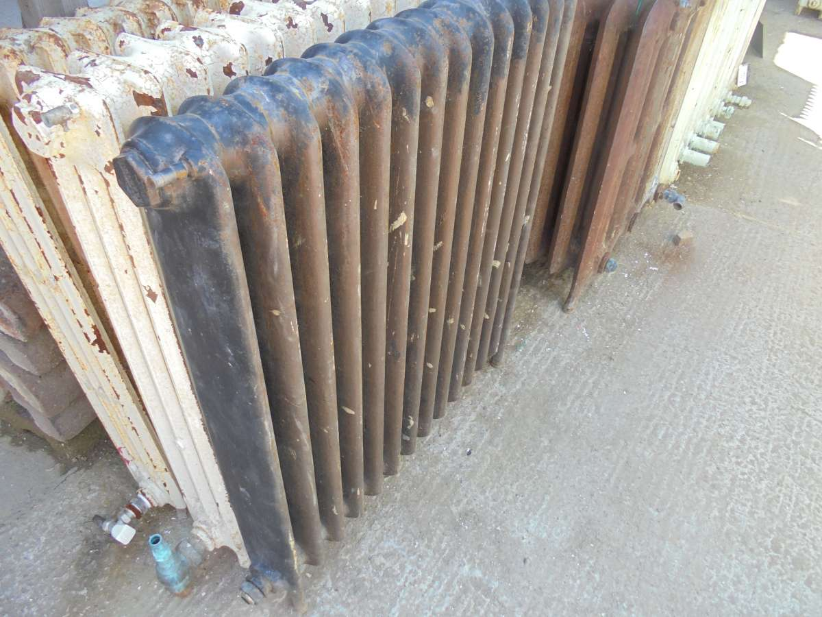 Reclaimed school radiator