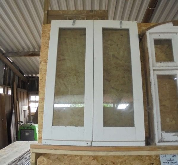 Reclaimed Soft Wood Painted Windows