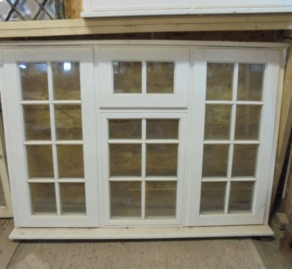 Large Reclaimed Wooden Window