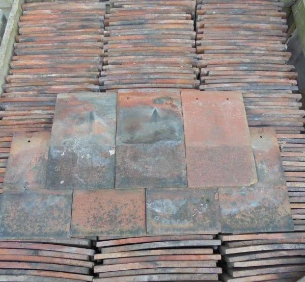 Reclaimed Machine Made Clay Nib Tiles