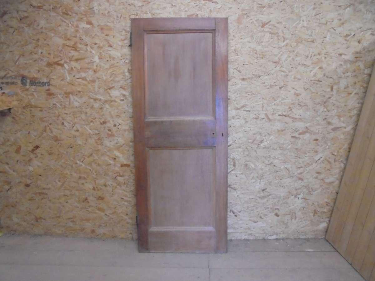 Reclaimed 2 Panelled 1 Over 1 Oak Door