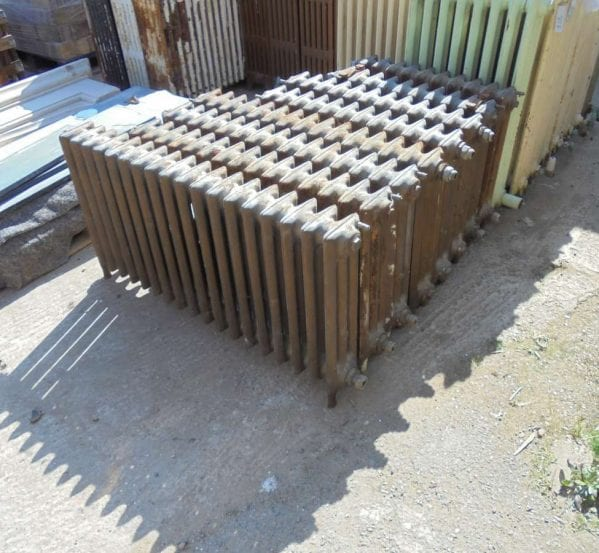 Reclaimed 3 bar radiators