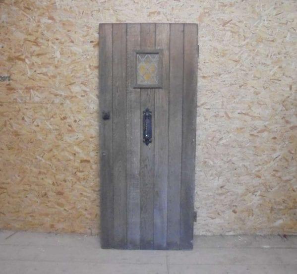 Reclaimed Glazed Oak Front Door