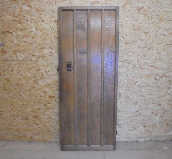 Reclaimed Oak Ledged Door