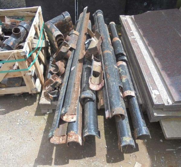 """4"""" cast iron guttering"""