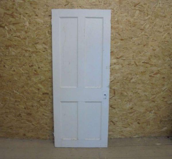 Painted Reclaimed 4 Panel Door