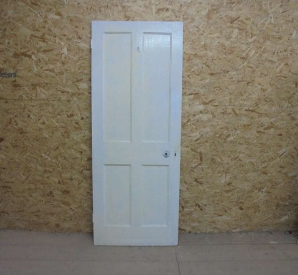 Beaded Half Painted 4 Panel Door