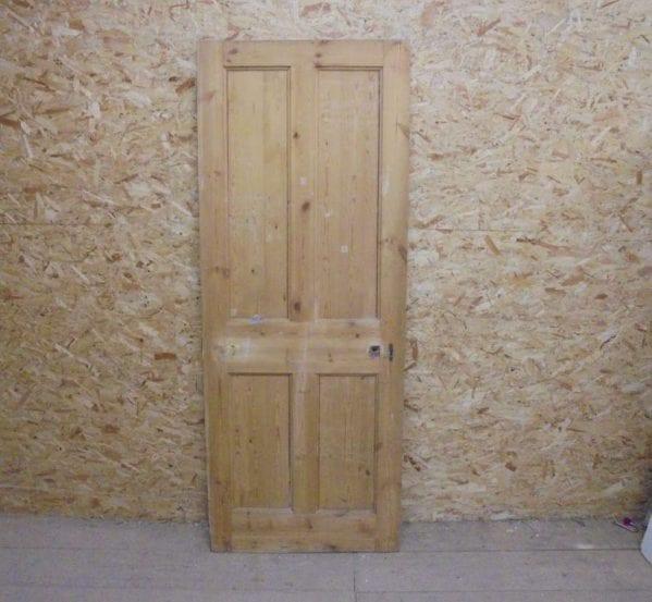 Stripped Beaded 4 Panel Door