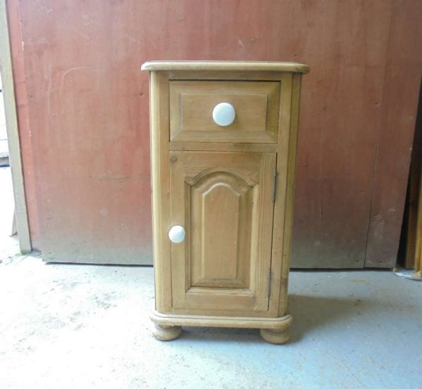 Reclaimed Pine Cupboard and Draw