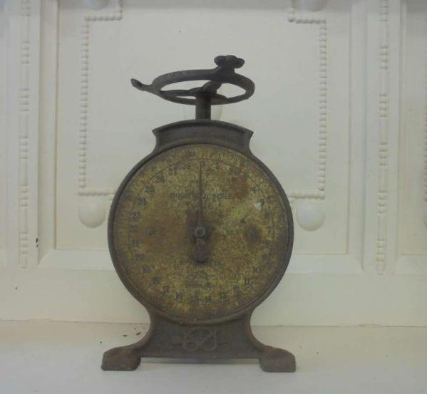 Reclaimed Metal Weighing Scales