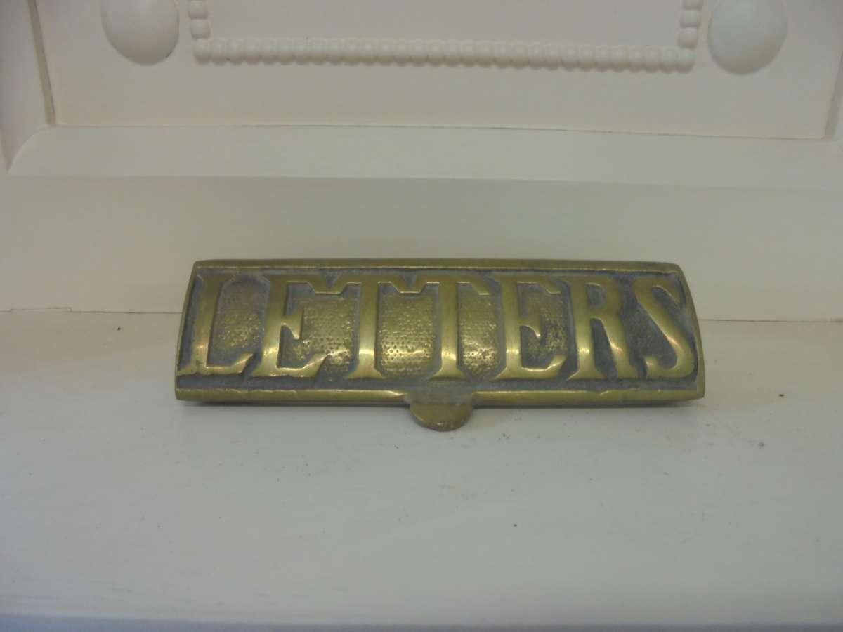 Reclaimed Letter Box Cover