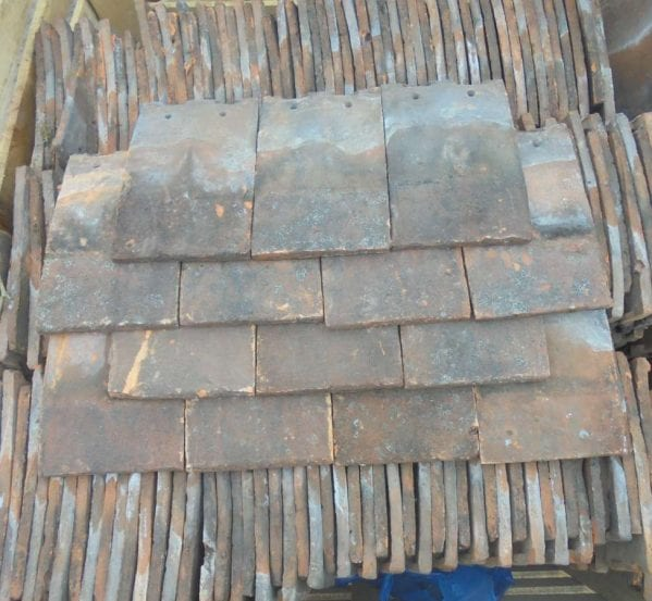 Reclaimed Handmade Clay Nib Tiles