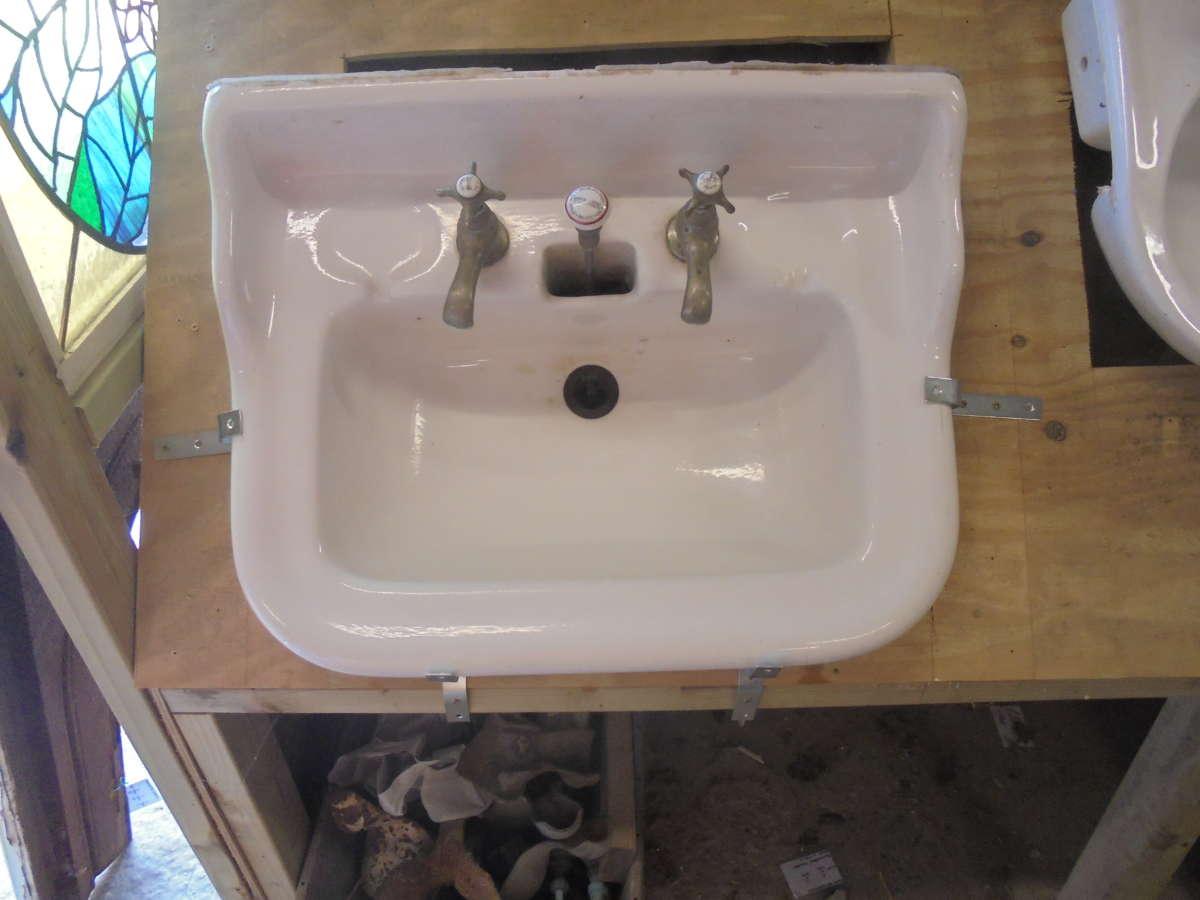Reclaimed bathroom sink