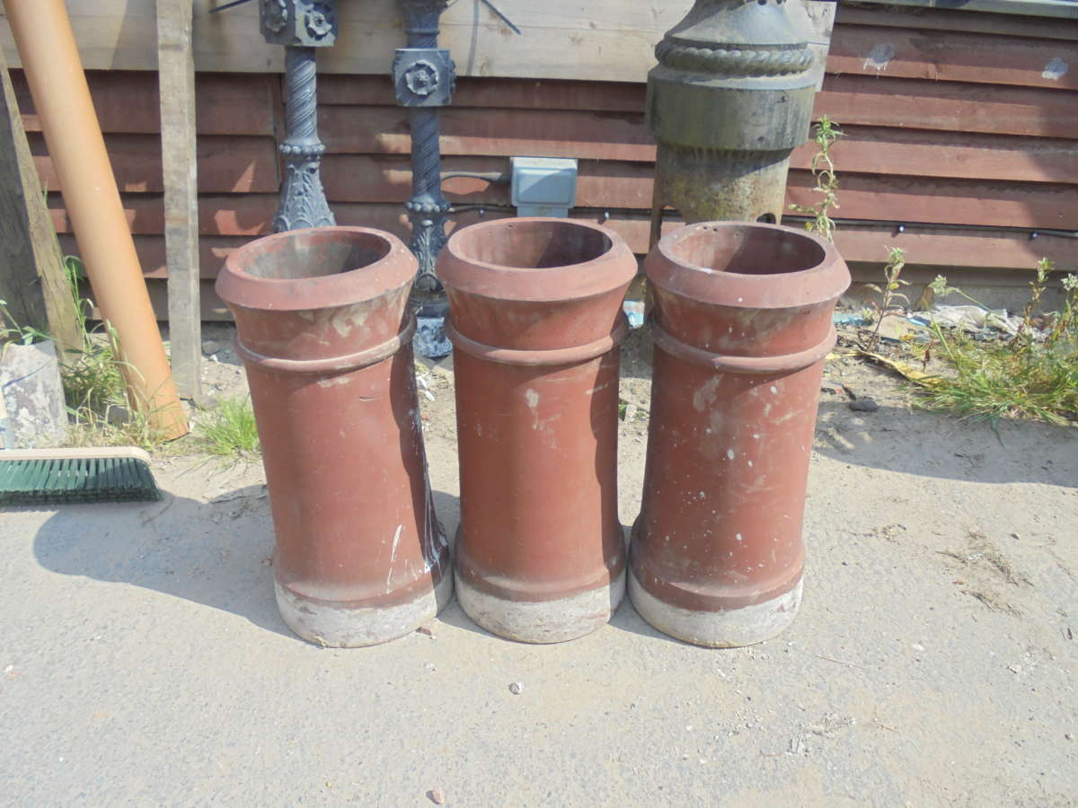 terracotta chimney pots