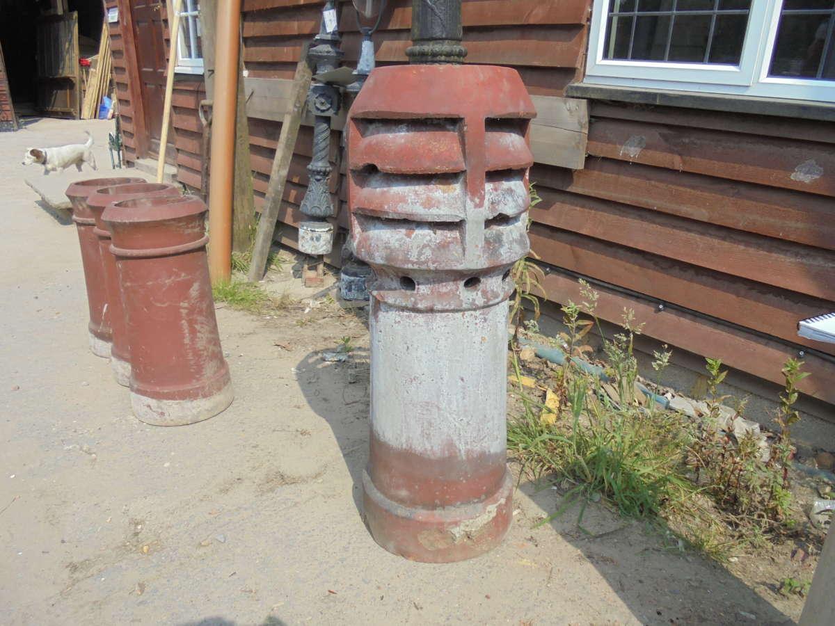 louvred chimney pot