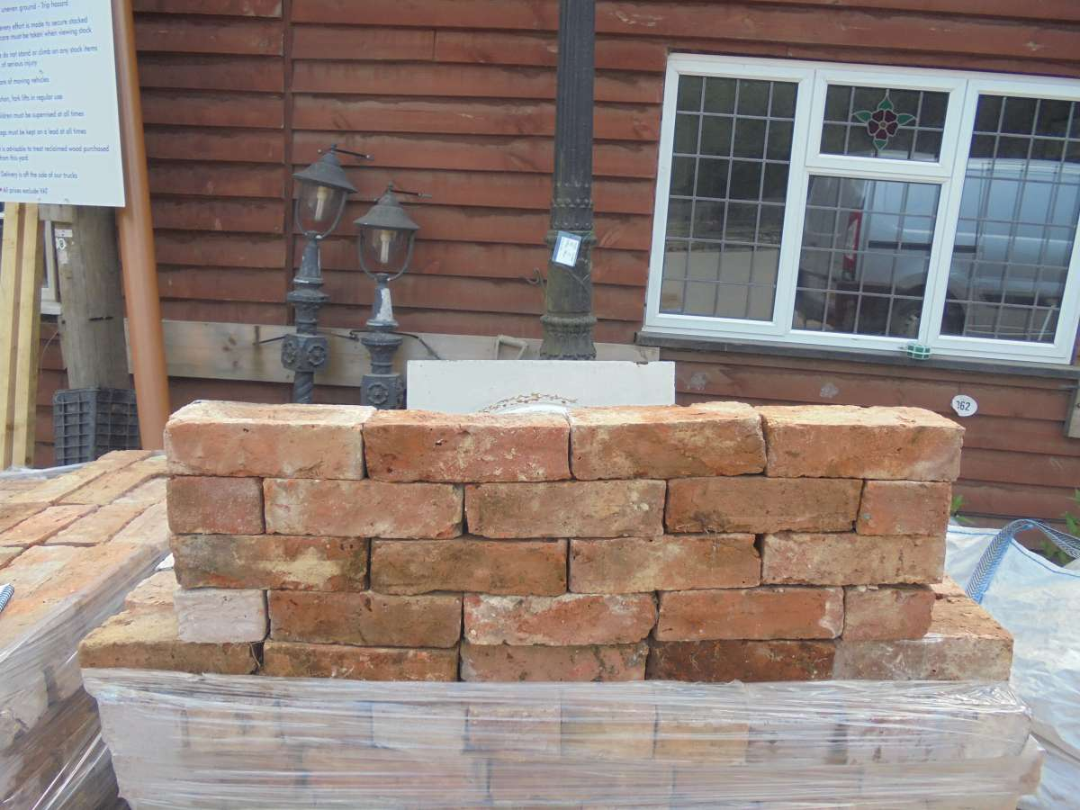 Victorian handmade red stock brick