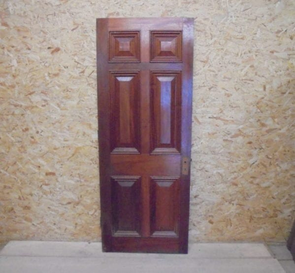 Reclaimed Mahogany 6 Panel Door