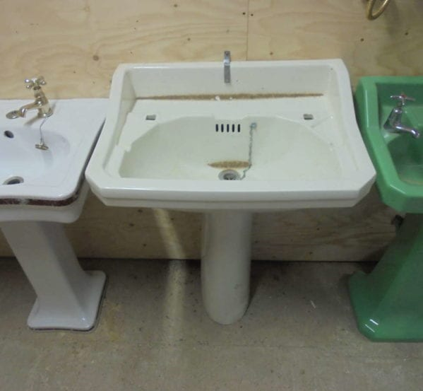 sink & pedestal