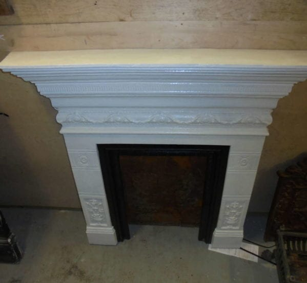 painted fire surround
